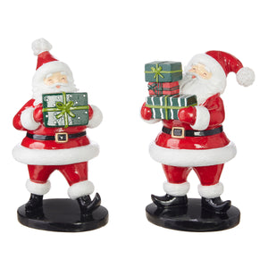 "10"" Santa with Package -  2 Assorted"