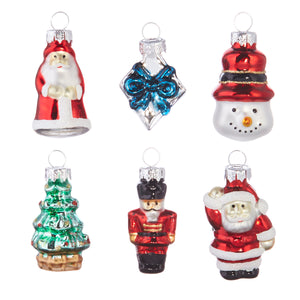 "2"" Boxed Set of Mini Traditional Ornaments"
