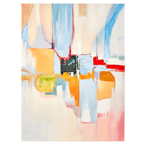 "32"" Abstract Canvas Wall Art"