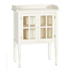 "36.25"" Side Table in White"