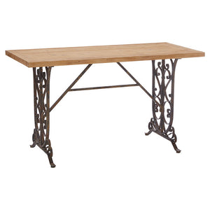 Gate Leg Console Table