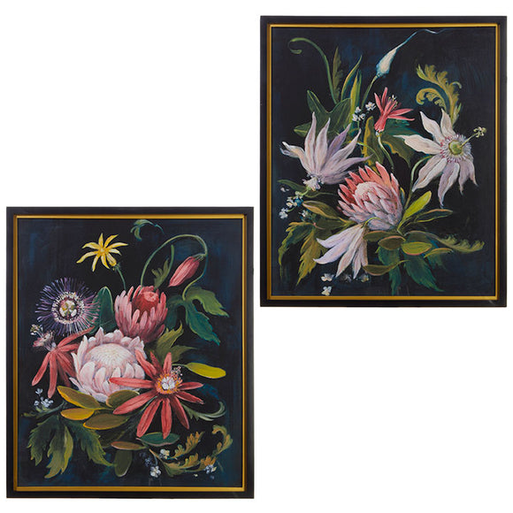 "28"" Floral Botanical Print - 2 assorted"