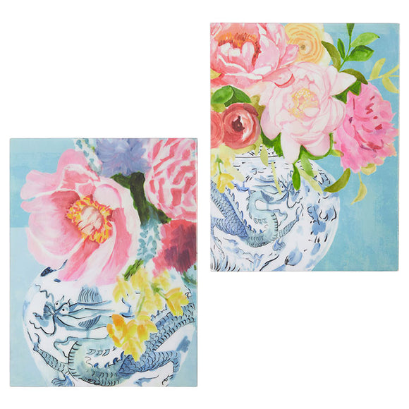 "15.75"" Floral Wall Art – 2 Assorted"