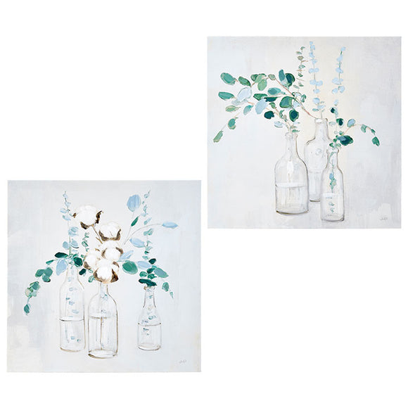 "Eucalyptus Wall Art 15.75"" - 2 Assorted"