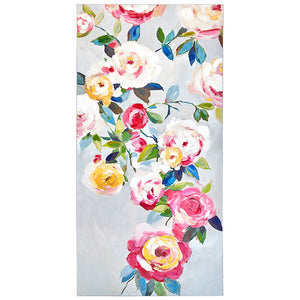 Long Vertical Floral Wall Art 35.5""