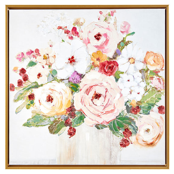 Floral Framed Wall Art 19.5""