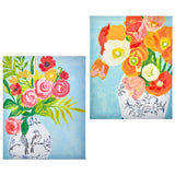 "19.75"" Floral Vase Wall Art – 2 Assorted - Sold Separately"