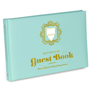 Guest Book For The Bathroom