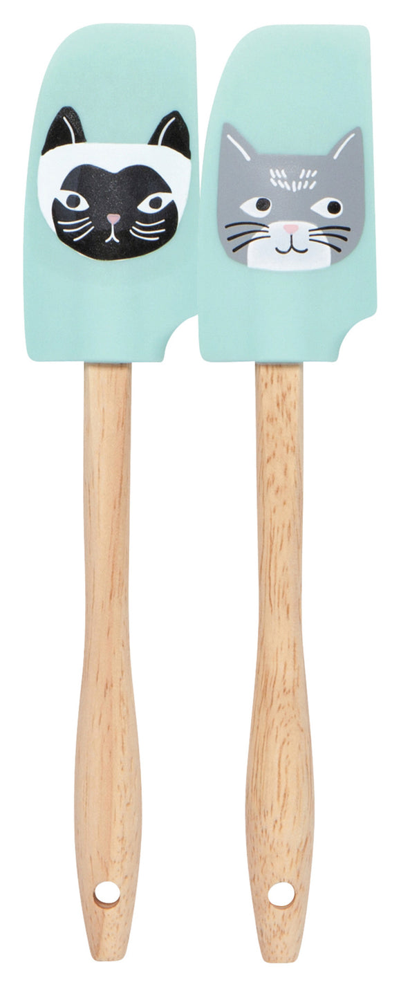 Now Designs Cats Meow Set of 2 Spatulas