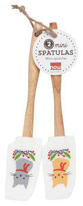 Jingle Cat Mini Spatula Set of 2