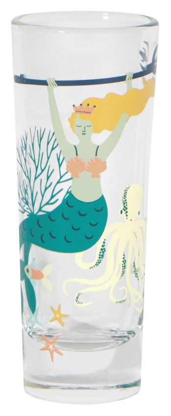 Now Designs Mermaid Octopus Shot Glass