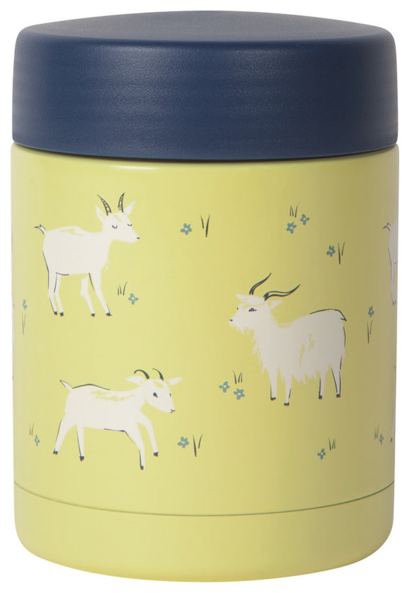 Now Designs Goats Small Food Jar
