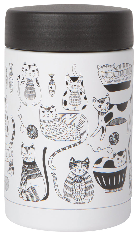 Now Designs Cat Purr Party Food Jar Large
