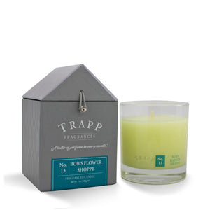 Trapp Signature Home Collection - No. 13 Bob's Flower Shoppe 7oz Candle in Glass