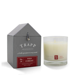 Trapp Signature Home Collection - No. 24 Wild Currant 7oz Candle in Glass