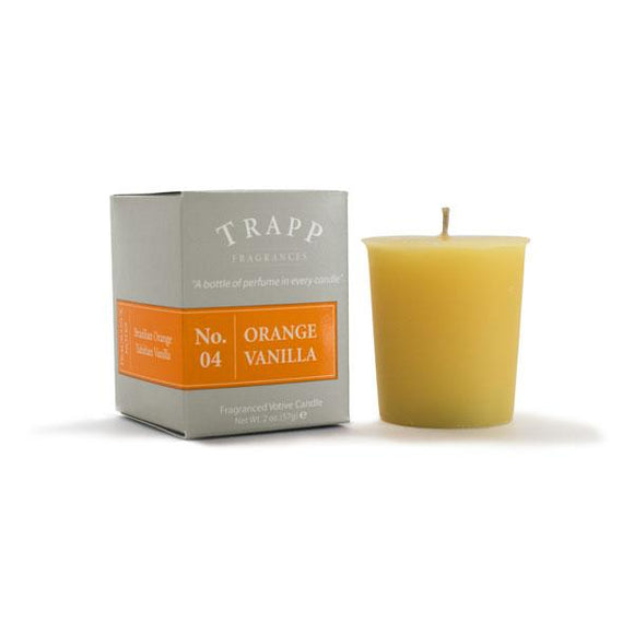 Trapp No. 4 Orange Vanilla 2oz Votive Candle