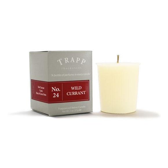 Trapp No. 24 Wild Currant 2oz Votive Candle