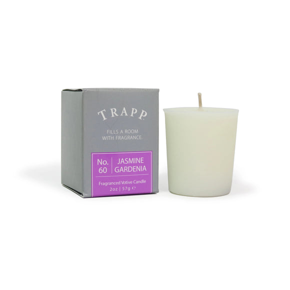 Trapp No. 60 Jasmine Gardenia 2oz Votive Candle