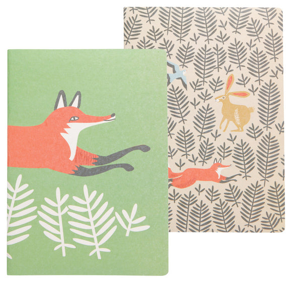 Danica Studio Set 2 Notebooks Hill & Dale Fox