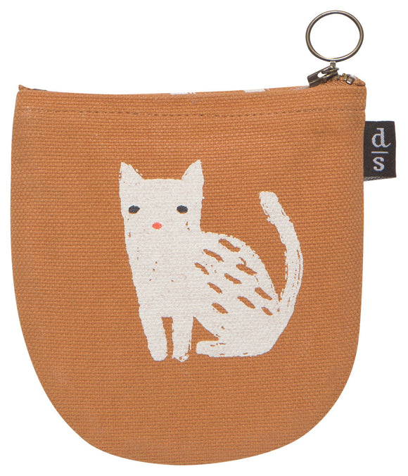 Danica Studio Small Zipper Cat Purse