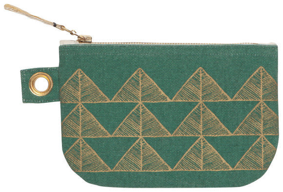 Danica Studio Shadowvale Geometric Small Zipper Pouch