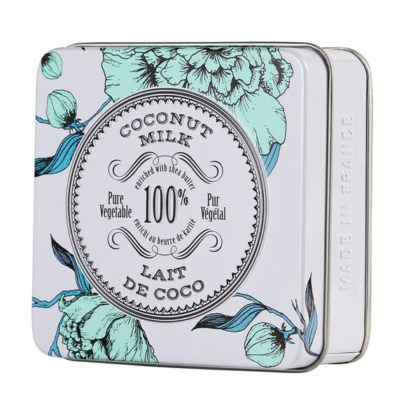 Coconut Milk Soap in Tin La Chatelaine