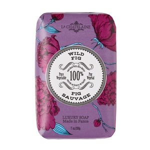 La Chatelaine Wild Fig Vegetable Soap 7oz