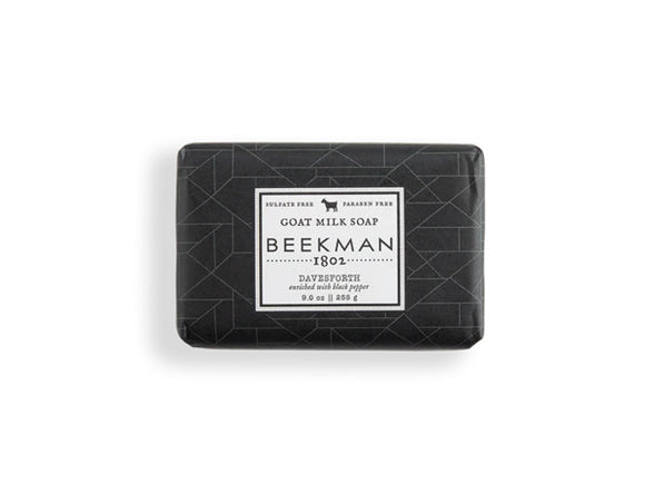 Beekman Davensforth Mens' Scented Goat Milk Soap 9oz Bar