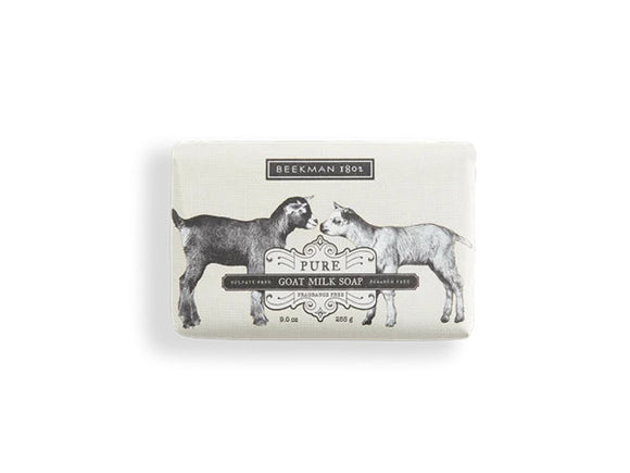 Beekman Pure Fragrance Free Goat Milk Soap 9oz Bar