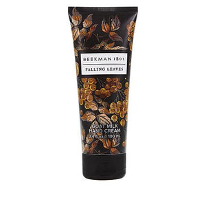 Beekman Falling Leaves Goat Milk Hand Cream 3.4oz in Wood & Metal Gift Crate