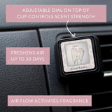 Bridgewater Sweet Grace Scented Car Vent Clip