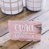 Grace and Gratitude Sweet Grace Easel Sachet