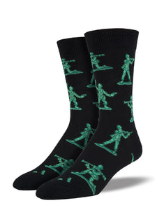 Men's Socksmith Army Men Socks in Black