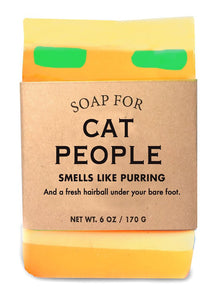 Whiskey River Soap – Cat People Soap