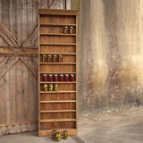 Canning Hutch Shelf Made From Reclaimed Wood