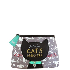 Daydream Cat Makeup Bag by House of Disaster