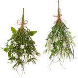 "17"" Mixed Herb & Floral Pick- 2 Assorted - Sold Separately"