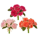 "10"" Real Touch Rose Bundle - 3 Colors - Sold Separately"