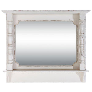 White Farmhouse Mirror