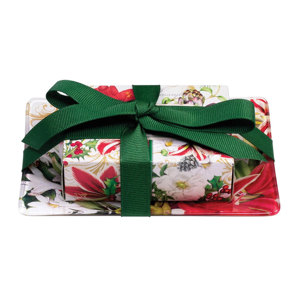 Merry Christmas Gift Soap Set