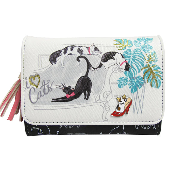 I Love CATS Wallet by House of Disaster
