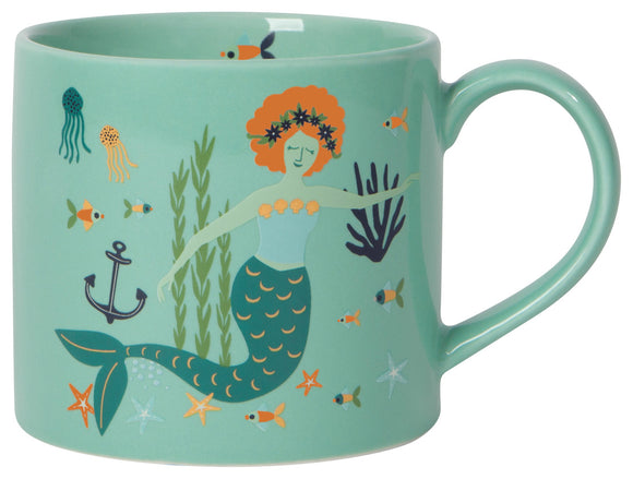 Now Designs Mermaid Mug in Gift Box