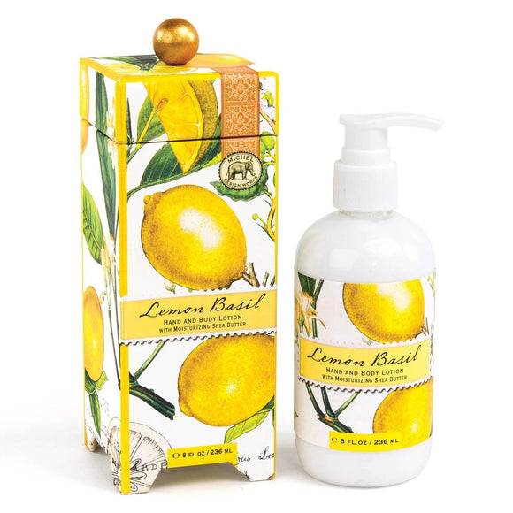 Lemon Basil Lotion Michel Design Works