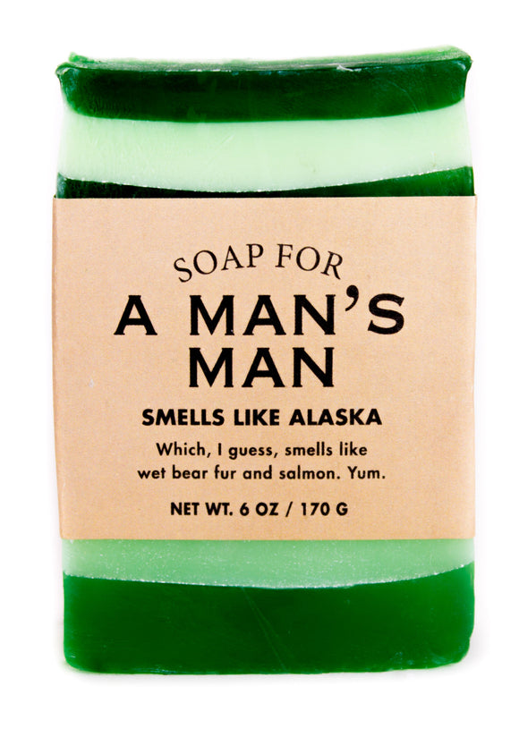Whiskey River Soap – Man's Man Soap