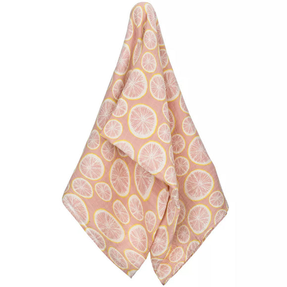 Grapefruit Organic Cotton Swaddle by Milkbarn