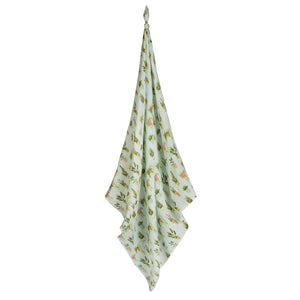 Potted Plants Bamboo Swaddle by Milkbarn