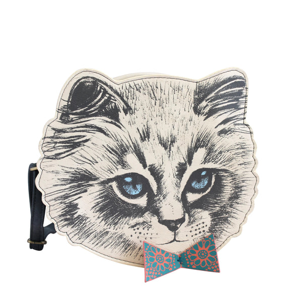 Meow Mini Bag Cat Purse by House of Disaster