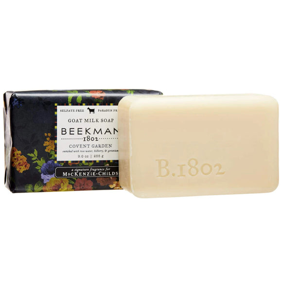 Beekman Mackenzie Childs Covent Garden 9oz Goat Milk Bar Soap