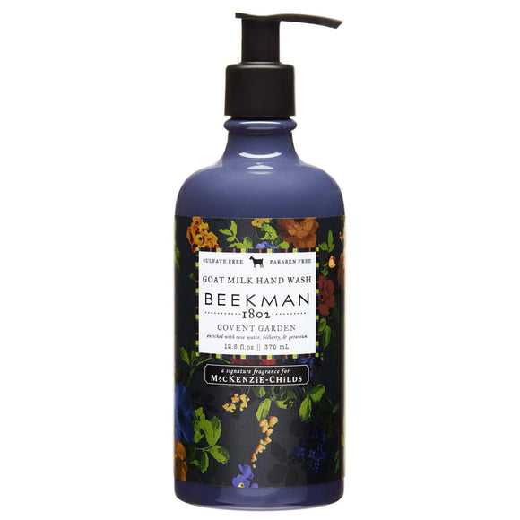 Beekman Mackenzie Childs Covent Garden 12.5 oz Hand Wash Pump