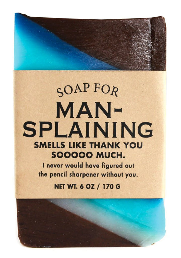 Whiskey River Soap – Mansplaining Soap